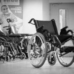 Collecte de matériel des handicapés